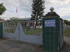 Nhà máy nước Sơn Đông - Bến Tre