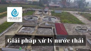 Giải pháp xử lý nước thải