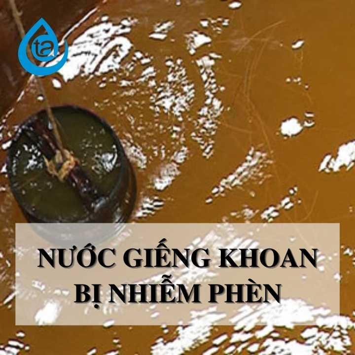 Nước giếng khoan bị nhiễm phèn - công nghệ met (2)