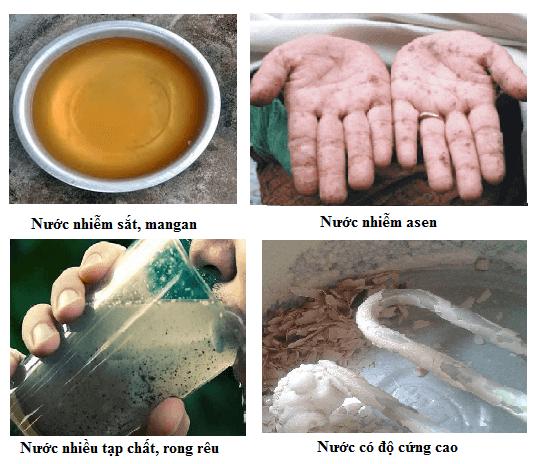 Cận cảnh công trình xử lý nước nhiễm vôi nặng