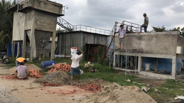 Lắp đặt hệ thống xử lý nước cho nhà máy nước Sơn Đông tỉnh Bến Tre