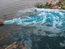 Nước thải ô nhiễm ở Hà Nội
