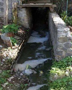 Nguồn nước thải ô nhiễm tại Hà Nội