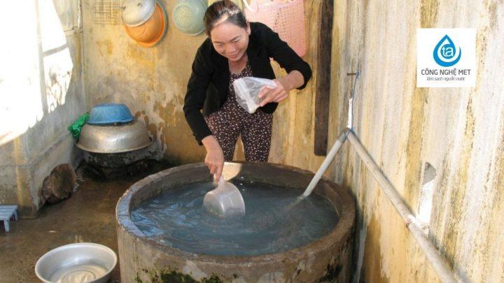 Nước giếng khoan ảnh hưởng đến sức khỏe