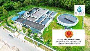 Tiêu chuẩn Việt Nam TCVN về nước thải, QCVN 40:2011/BTNMT Quy chuẩn kỹ thuật quốc gia về nước thải công nghiệp, QCVN và TCVN
