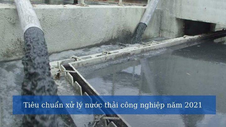 Xử lý nước thải tại cụm khu công nghiệp
