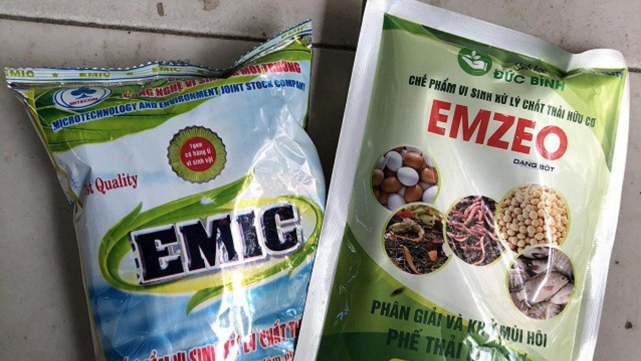 chế phẩm vi sinh EMZEO