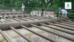 xử lý nước giếng khoan nhiễm sắt