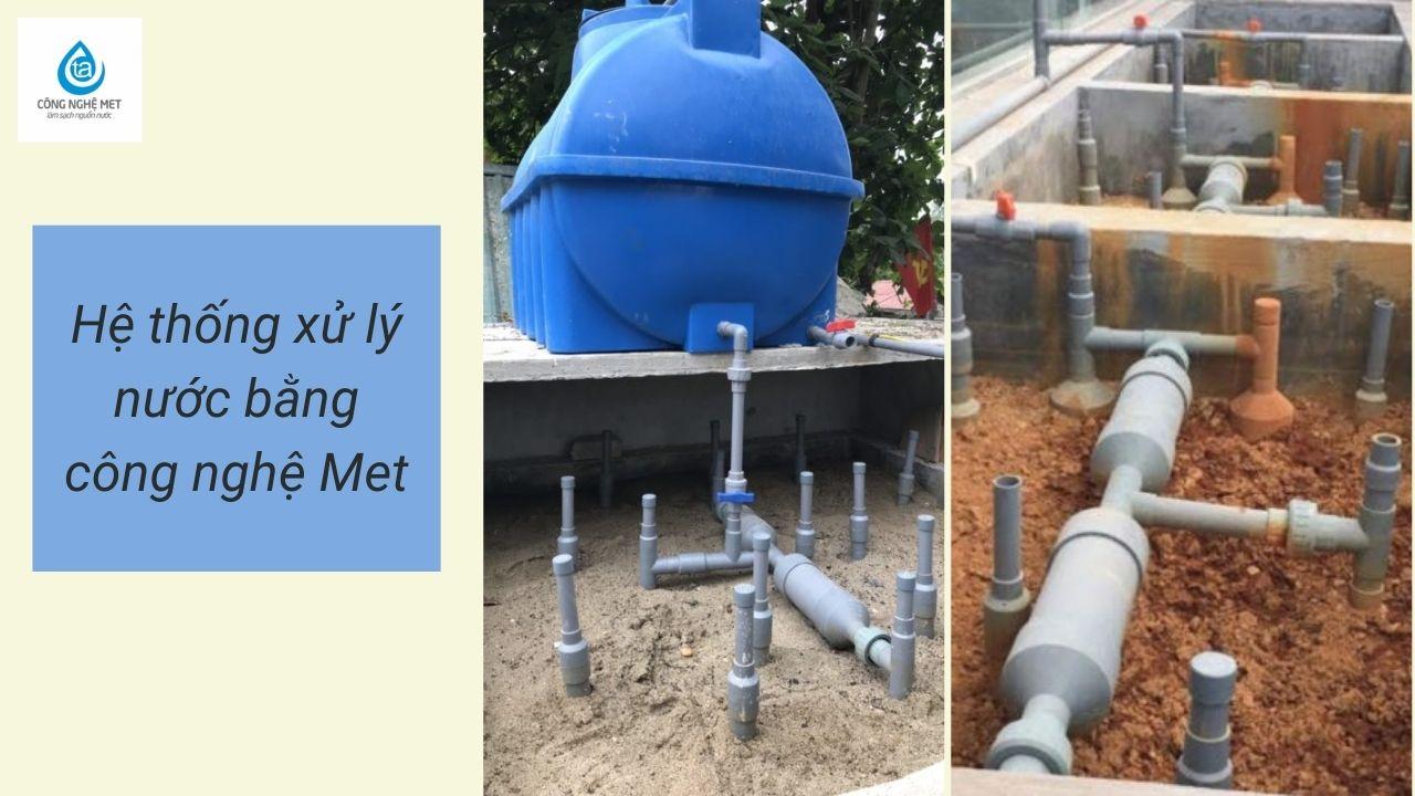 Ứng dụng công nghệ MET - Nước ao nuôi cá có váng vàng cách giải pháp tối ưu