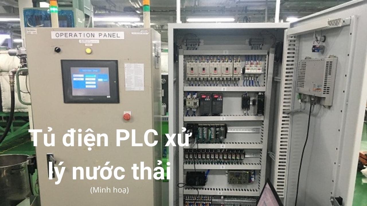 Hệ thống xử lý nước thải PLC