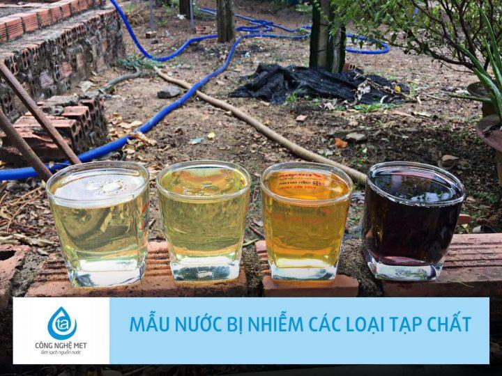 Tốp 5 phương pháp lọc nước giếng khoan