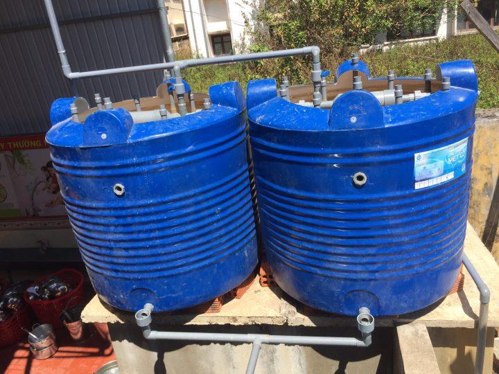 Cách xử lý nước giếng khoan để tưới cây cảnh