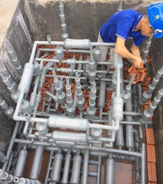 Thành công trong dự án xử lý nước thải