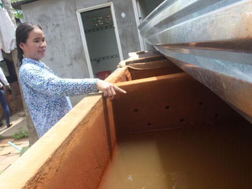 Xử lý nước nhiễm đá vôi tại nhà