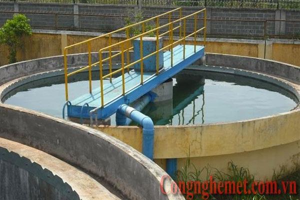 Bể lắng có vai trò lớn trong xử lý nước thải