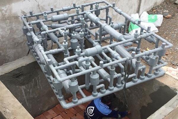 Sử dụng công nghệ Met để làm sạch nước giếng đào