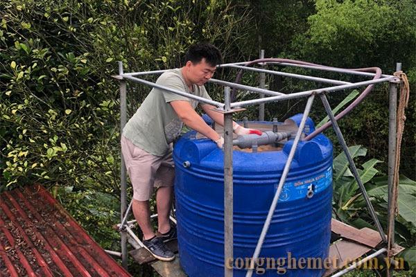 Sử dụng công nghệ Met để làm sạch nước máy