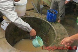 Nước nhiễm phèn ảnh hưởng rất lớn đến đời sống của người dân