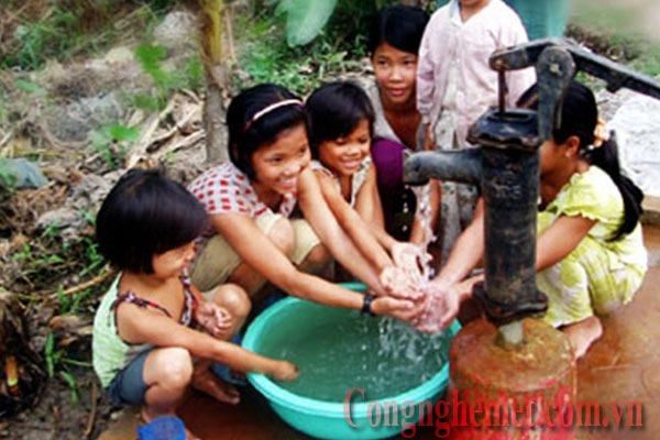 Xử lý nước phèn giếng khoan sạch sẽ giúp người dân có sức khỏe tốt
