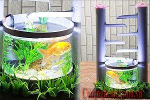 Sử dụng lọc nước bằng ống nhựa tự làm